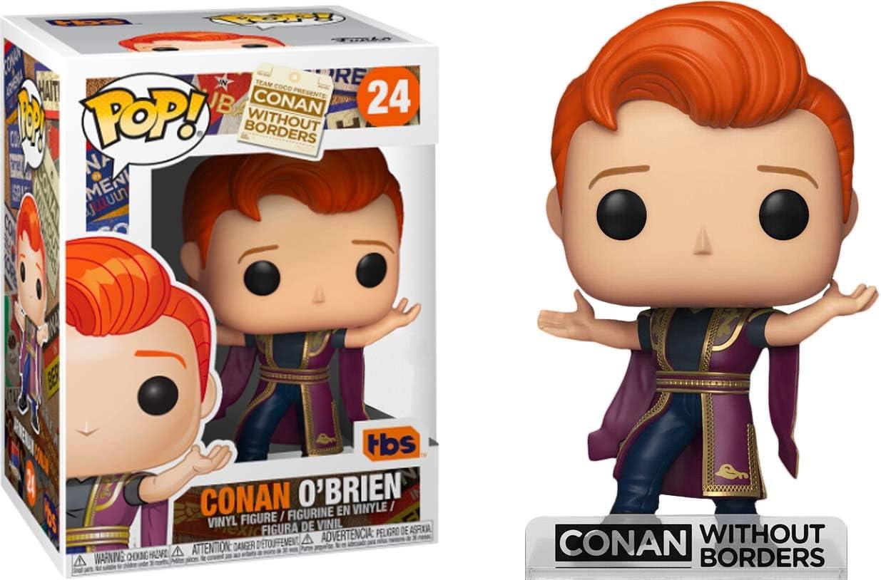 Conan O/'Brien Team Coco Orange Pop Vinyl Figure Conan O/'Brien SDCC 2019