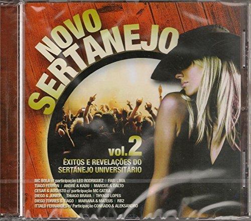 Sertanejo - Novo Sertanejo Vol. 2: Exitos E Revelacoes Do Sertanejo Universitario [CD] 2013 (Mc Bola)