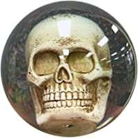 Bowlerstore Clear Skull Bowling Ball 15lbs, Clear, 15