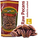 Two Pounds Of Pecans Raw, Whole, Shelled, Raw, Natural, No Preservatives Added, Non-GMO, NO PPO, 100% Natural We Got Nuts