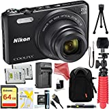 Nikon Coolpix S7000 Digital Camera ULTIMATE PRO Bundle: Nikon Coolpix S7000 + Camera Case + Replacement Battery/Charger + 64GB Memory + Tripod + Card Wallet + DigitalAndMore Cleaning Solution + MORE..