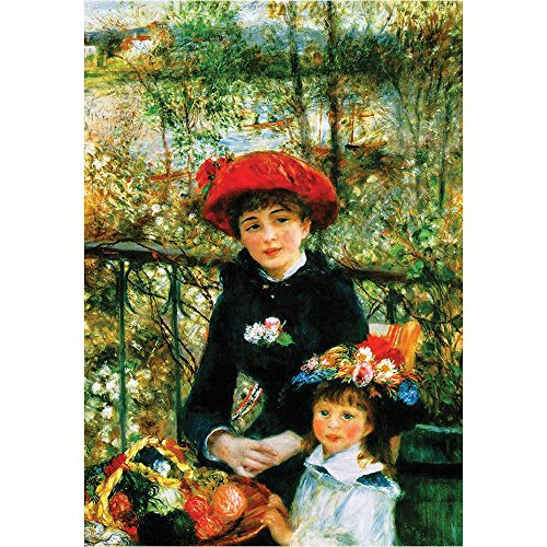 Bien 1000piece Jigsaw Puzzle Two Sisters on the Terrace by Auguste ()