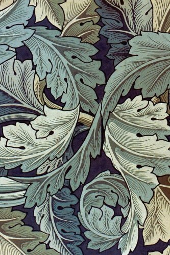 Journal: William Morris Stylized Leaves -