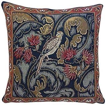 Amazon.com: Corona Decor Co - Cojín con diseño de pájaros y ...