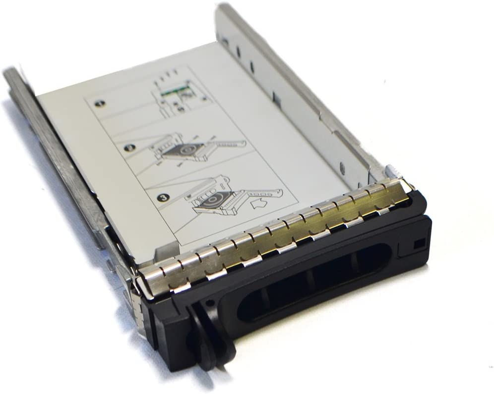 Dell F892C New OEM Precision R5400 HDD Hard Disk Drive Caddy Tray Carrier Holder Sled 3.5 Sata SAS Enclosure Housing Hot Swap