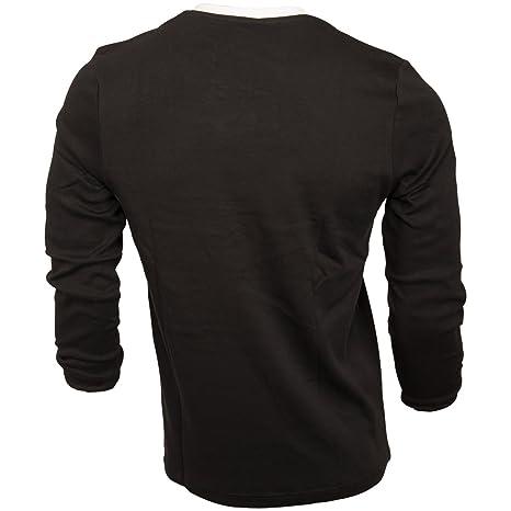 FC St. Pauli de fútbol Manga Larga - Camiseta Retro Sudadera Parte Superior con Calavera de diseño Blanco y Negro: Amazon.es: Deportes y aire libre