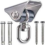 Besthouse Heavy Duty Swing Hangers, Silent Swing Hooks Silent 360° Rotation