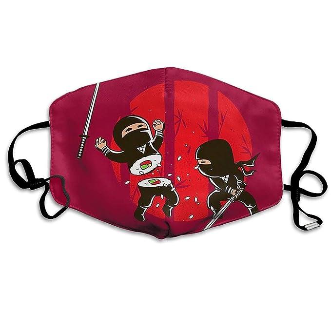 Amazon.com: ZKIRESD Sushi Ninja Máscara de boca unisex ...