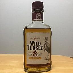 Amazon Co Jp バーボンウィスキー ワイルドターキー 8年 ウイスキー アメリカ合衆国 700ml 食品 飲料 お酒