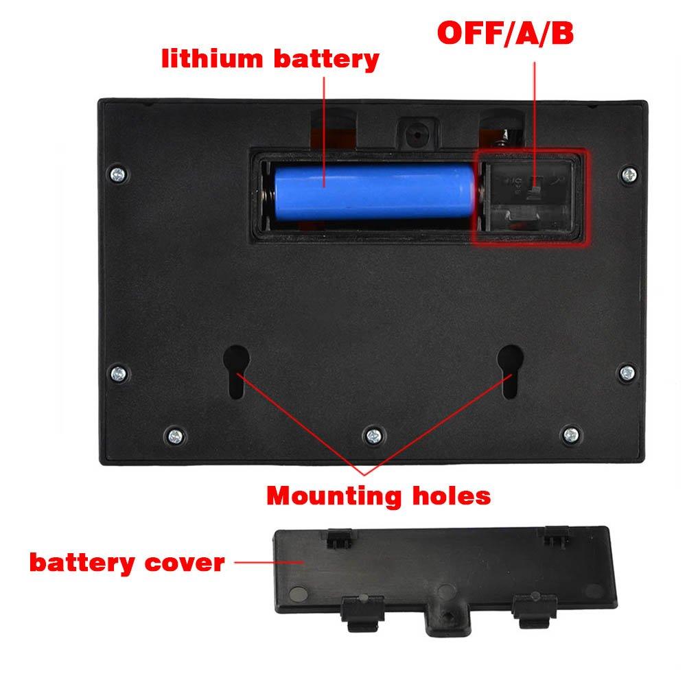 NetBoat 24 LED Foco Solar con Sensor de Angulo Ancho Focos LED Exterior Protección Ambiental y Ahorra de Energía Luz Solar Impermeable al Aire Libre con 3 ...