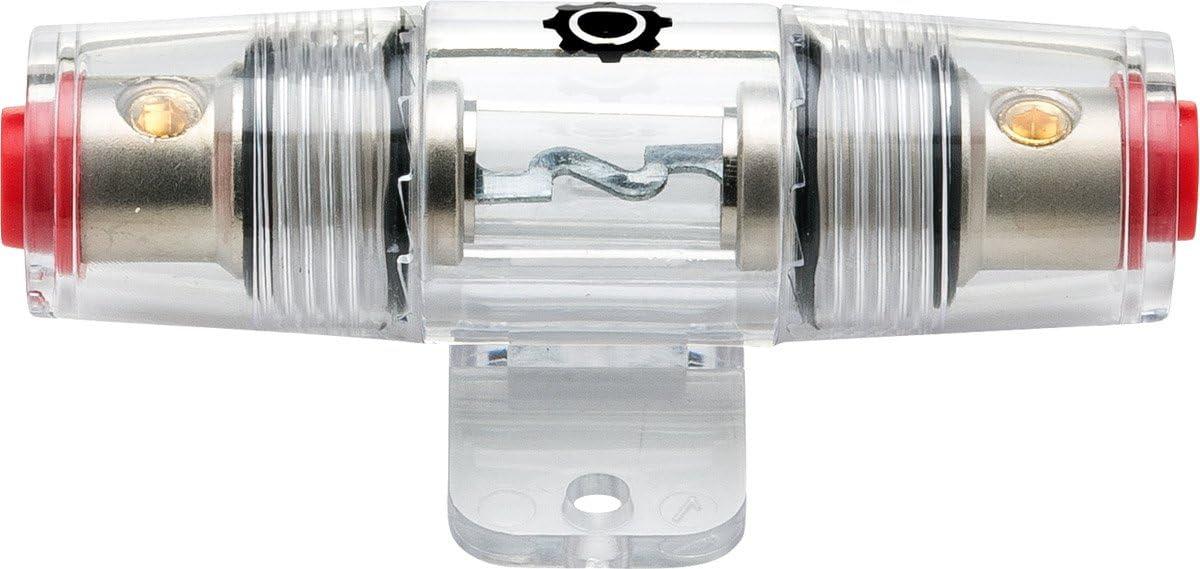 [DIAGRAM_38ZD]  Amazon.com: InstallGear 8/10 Gauge AWG in-Line AGU Fuse Holder with 60 Amp  Fuse: Car Electronics | Inline Engine Fuse Box |  | Amazon.com
