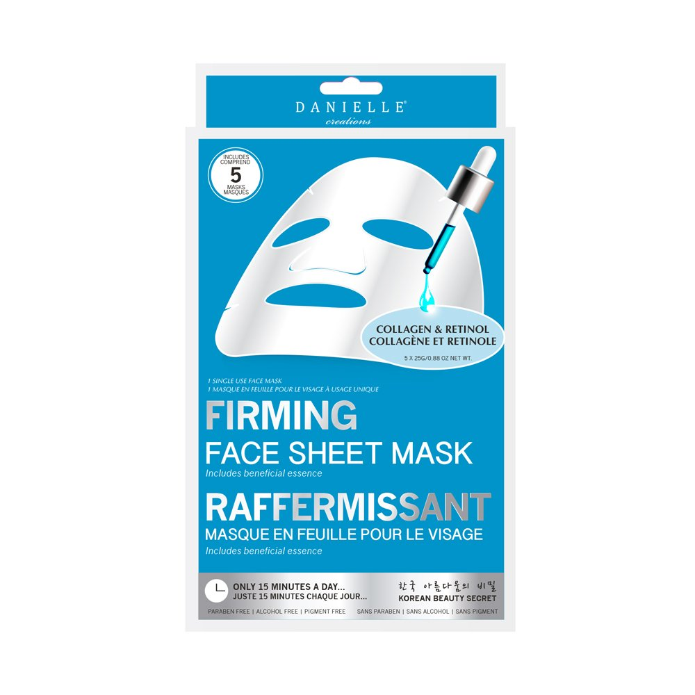 Danielle Creations Firming Face Mask, Pack of 5 D78788