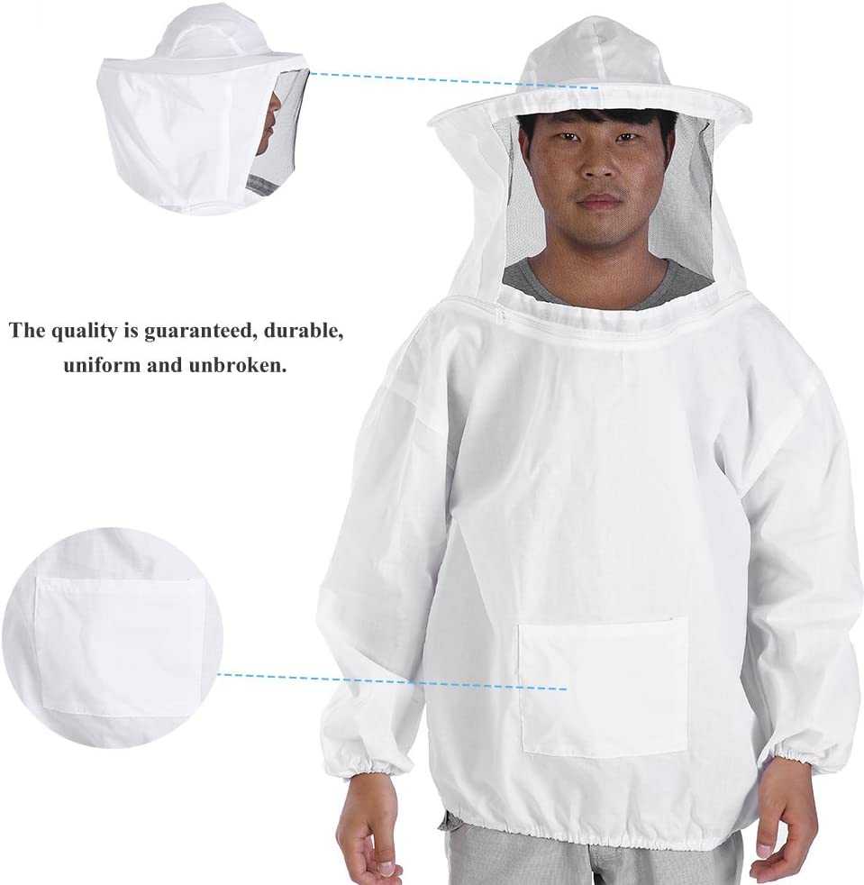Beekeeping Suit Professional Beekeeping Protective Jacket Suit,Bee Keeping Beekeeper Equipment