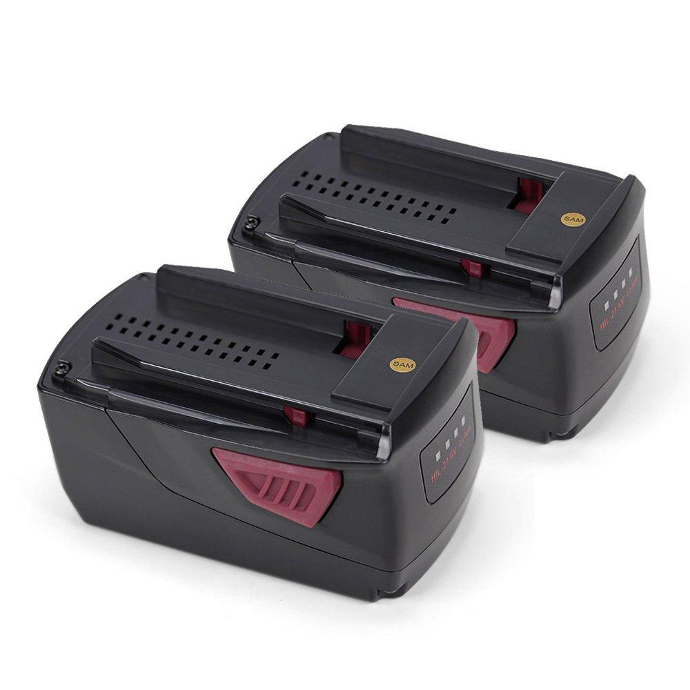 POWERGIANT 2PCS 21.6V 3000mAh Li-ion Batteria per Hilti B22   1.6, B22 3.3, B22   2.6 AG 125-A22 HDE 500-A22 SCM 22-A SCW 22-A SD 5000-A22 SF 22-A SFC 22-A SFH 22 -A