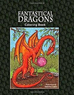 Fantastical Dragons Coloring Book