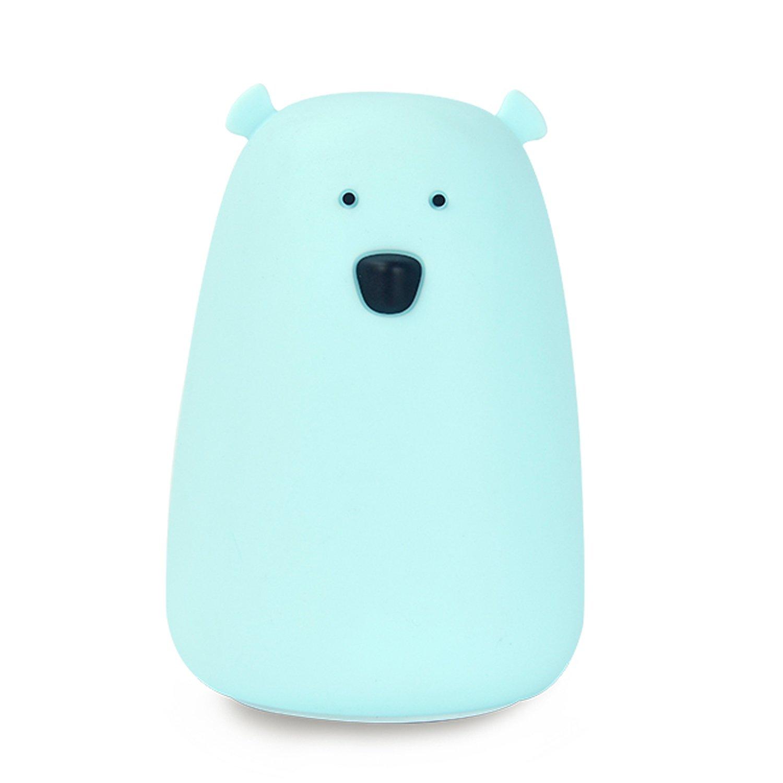 GoLine Bear Night Light。 Big Bear(Lithium Battery) ブルー GL-NL017-BE B071P1KCH3 15248 Big Bear(Lithium Battery)|ブルー ブルー Big Bear(Lithium Battery)