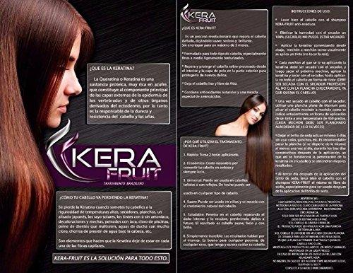 Amazon.com : Cirugía Capilar Profesional KERAFRUIT 500 ML (Shampoo-Straightening) : Everything Else