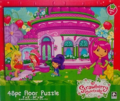 American Greetings Strawberry Shortcake 48 Piece Floor Puzzle