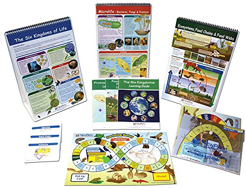 NewPath Learning 74-6702 Diversity of Organisms and Ecosystems Skill Builder Kit by New Path Learning