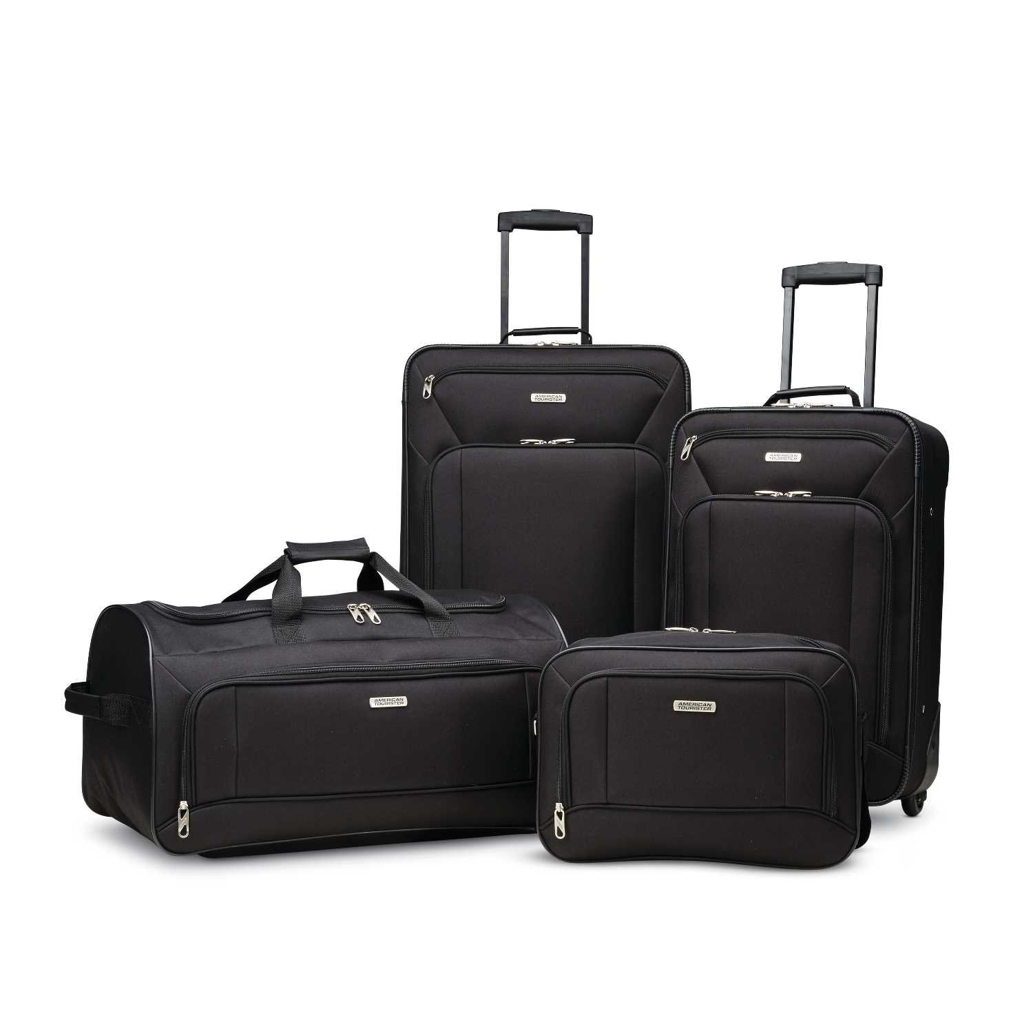 American Tourister 4-Piece Set, Black by American Tourister