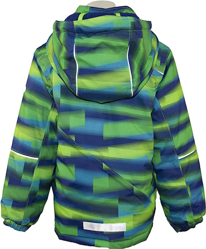 Green Gecko Kamik Rufus Boys Winter Jacket Size 6