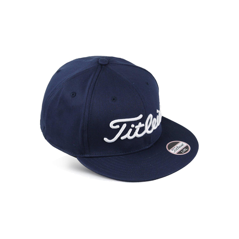TITLEIST Hats & Caps (S/M, Flat bill, Navy) LYSB01M6YS0LA-SPRTSEQIP
