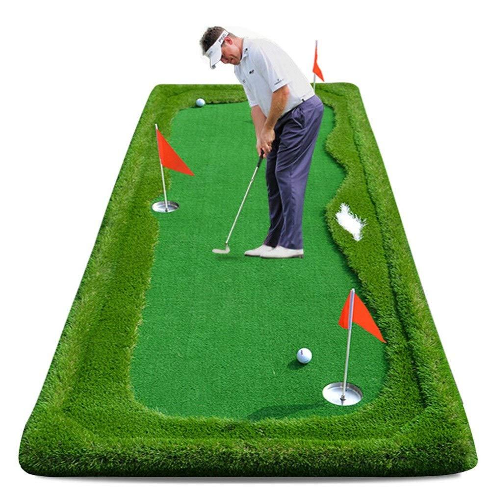 DS-ゴルフマット ゴルフ練習パッド打撃パッドゴルフパターパター ゴルフ練習マット (Color : Portable standard edition, Size : 1mx3m) Portable standard edition 1mx3m