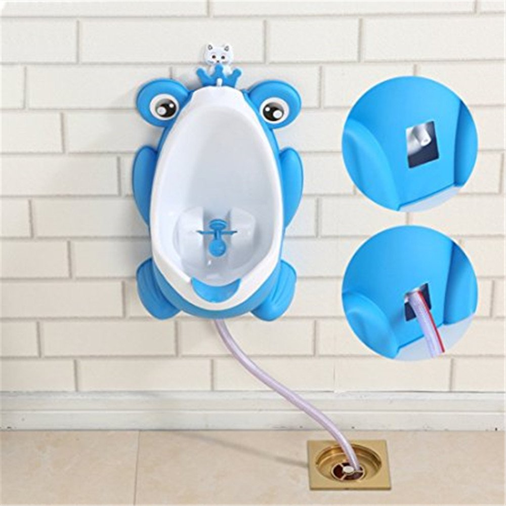 Awesome Self Draining Potty Frog Baby Toilet Portable Froggy Training Urinal For Toddlers With Aiming Target By Eamall Blue Bralicious Painted Fabric Chair Ideas Braliciousco