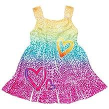 Youngland Baby Girls Rainbow Cheetah Print Sundress