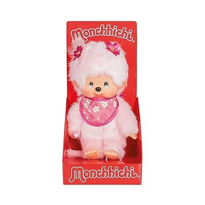 Sekiguchi 767020 Monchhichi Cerisier peluche animaux – Rose: Toys & Games