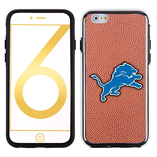 NFL Detroit Lions Classic Football Pebble Grain Feel No Wordmark iPhone 6 Case, Brown