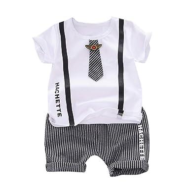 Julhold - Corbata de algodón con diseño de Letra, Camiseta y ...