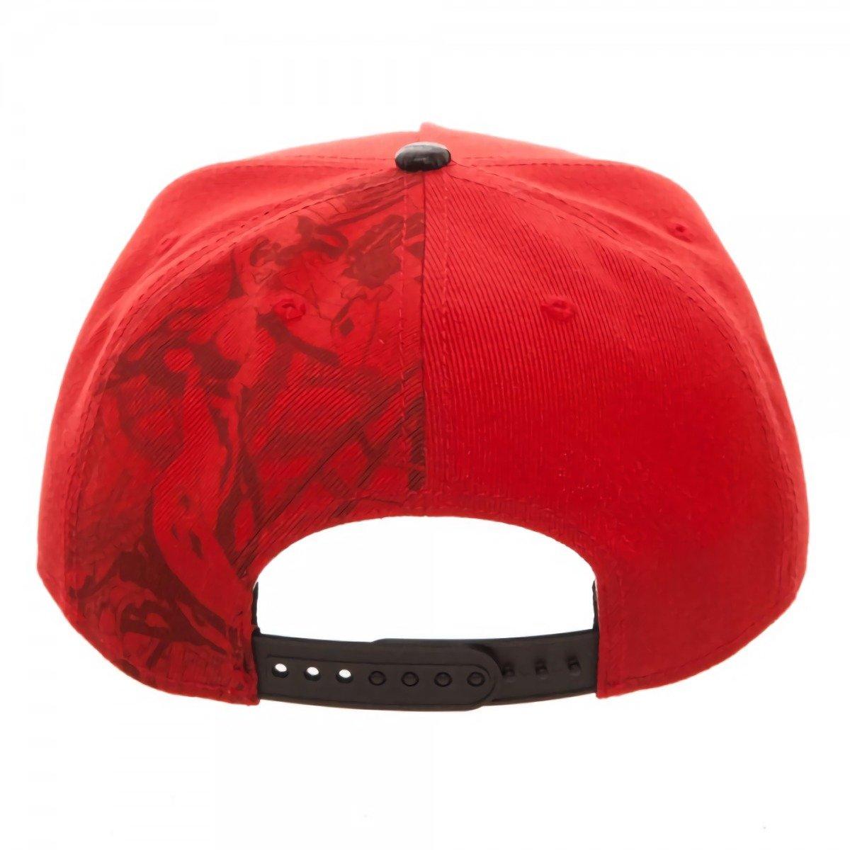 3a0e9818ae975 Amazon.com  Bioworld Batman Harley Quinn Carbon Fiber Snapback Baseball Hat