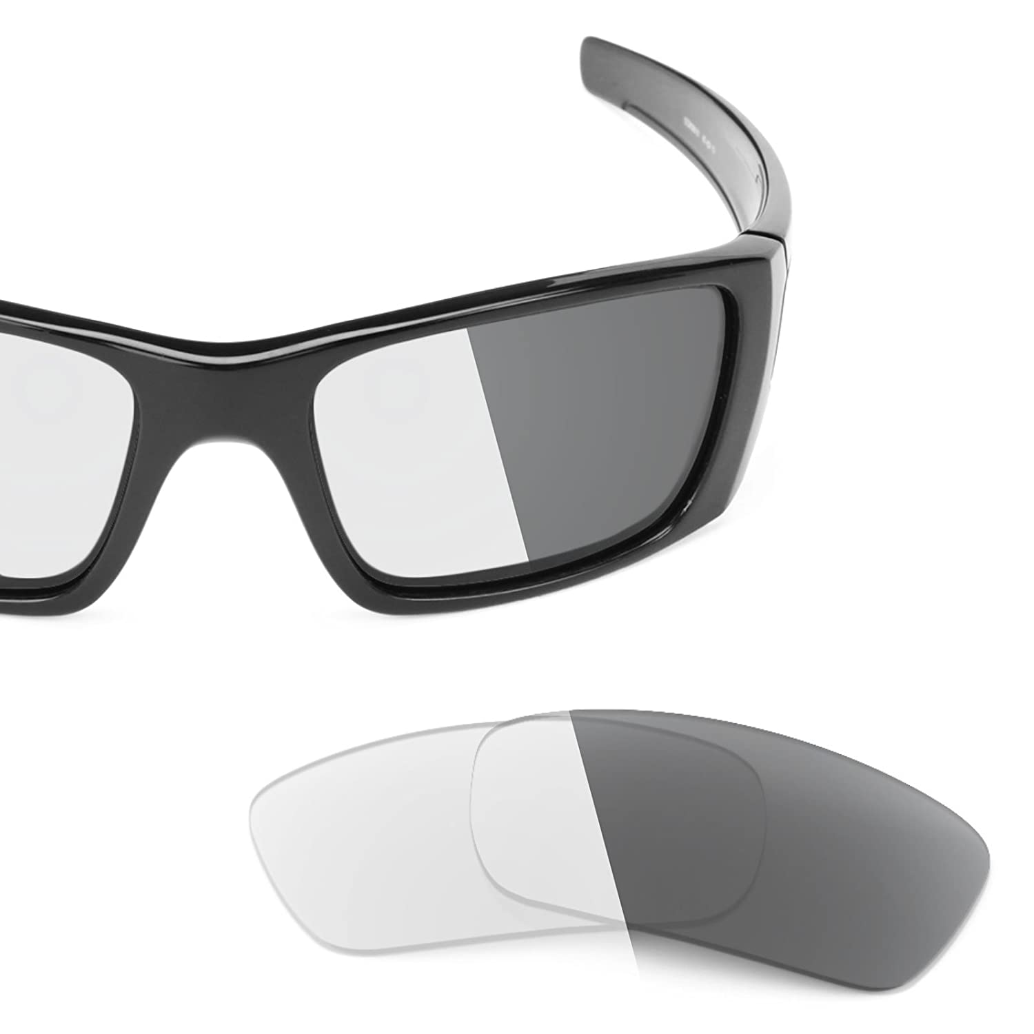 11a252199af Revant Replacement Lenses for Oakley Fuel Cell Elite Adapt Grey Photochromic   Amazon.co.uk  Clothing