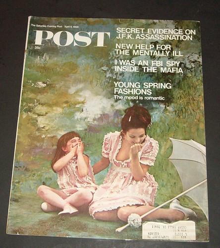 Saturday Evening Post Magazine - April 6, 1968: Amazon com