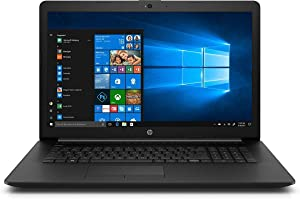 "2020 Newest HP 17.3"" HD+ Screen Laptop Computer, Intel Quad-Core i5-1035G1 (Up to 3.60GHz, Beat i7-7500U), Webcam, DVD-RW, HDMI, WiFi, Bluetooth, Win10 +CUE Accessories (8GB RAM I 256GB PCle SSD)"