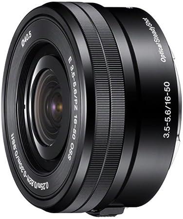 Sony Selp1650 Standard Zoom Lens Black Camera Photo