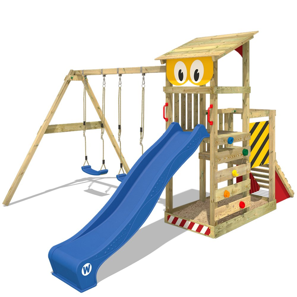 WICKEY Spielturm Smart Scoop Kletterturm Klettergerüst mit Rutsche ...