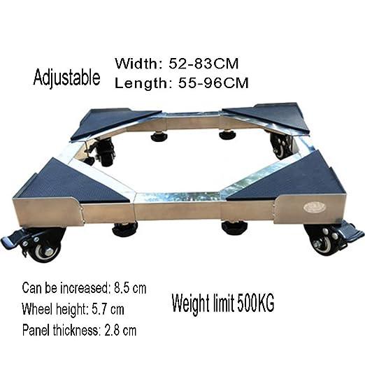 Base ajustable móvil multifuncional, base ajustable para lavadora ...