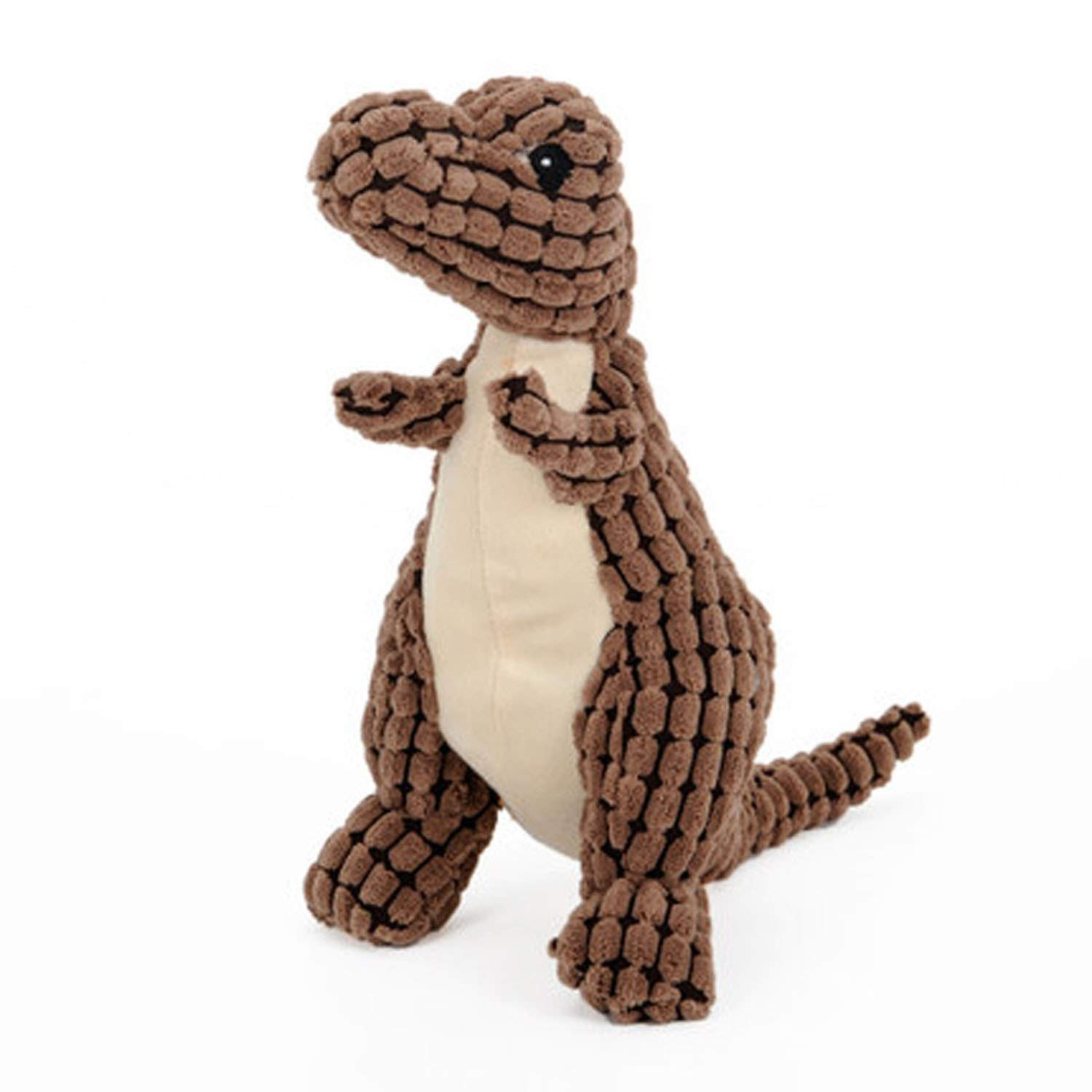 Brown 50CM Brown 50CM It's a big deal Dog Toy Sound Teddy Puppies Resistant to Biting Interactive Pet Toys,Brown,50CM