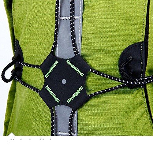ALUK-Outdoor / Bicicletta borsa borsa / zaino pacchetto / outdoor borsa sportiva / equitazione -Green 20L