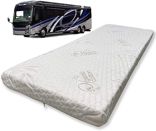 Foamma 6 x 28 x 75 Camper/RV Travel Memory Foam Bunk Mattress