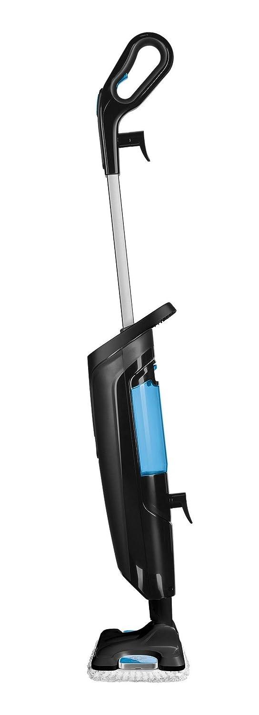 Rowenta RY6535WI Balai Nettoyeur Vapeur avec Fil Steam Power 1200W Sans Produits Chimiques Bleu et Noir