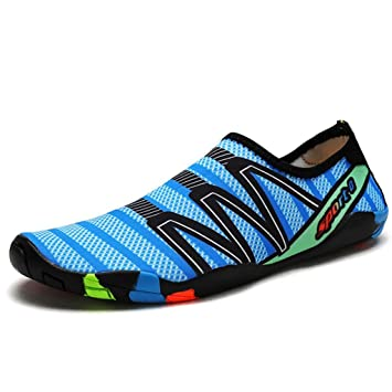 19bed3d2d GAOLIXIA Zapatos de vadeo para hombres Pareja Zapatos de secado rápido para  padres e hijos Natación ...