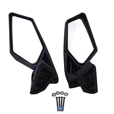 UTV Side Rear View Mirror Rearview Racing Mirrors for Can Am Maverick X3 XRS XDS MAX Off-road 2020 2020 2020 2020(1 Pair): Automotive [5Bkhe0815625]