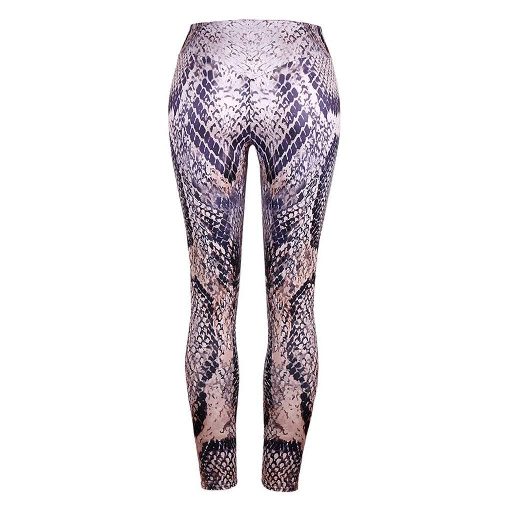 Soholulu Breathable Women High Waisted Snake Lin Trousers ...