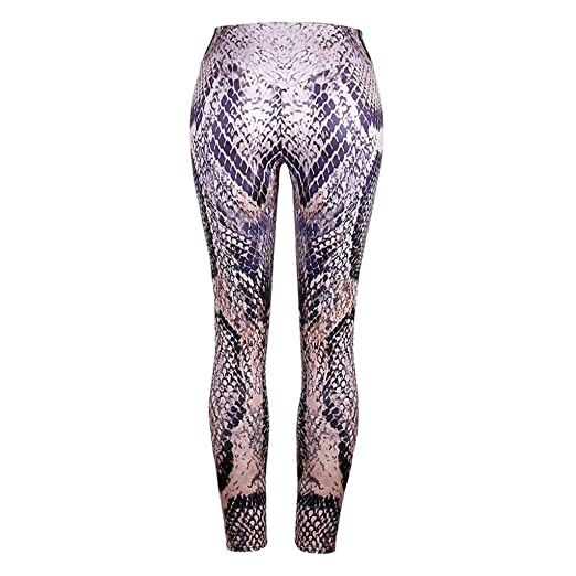 Soholulu Breathable Women High Waisted Snake Lin Trousers ...