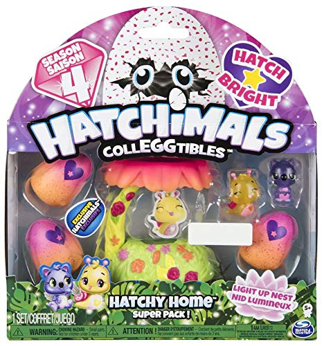 Hatchimals Colleggtible Playset Hatchy Home Super Pack Season 4