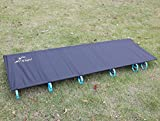 Best Outdoor Products Camping Cots - Ultralight Portable Folding Single Camp Bed Travel Cot Review