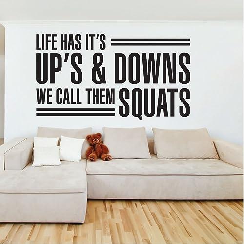 Amazon com: Life Has It's Ups & Downs We Call Them Squats